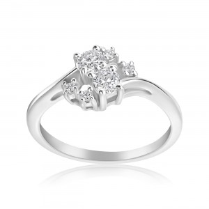 White Gold 1/3ct TDW 2-stone Forever Ring - Custom Made By Yaffie™