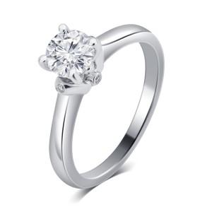 White Gold 3/4ct TDW Diamond Engagement Ring. - Custom Made By Yaffie™