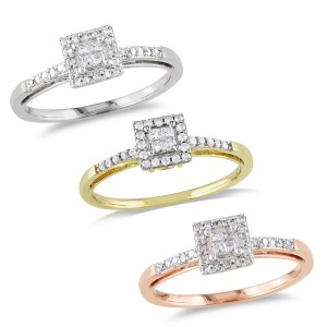Gold 1/5ct TDW Diamond Ring - Custom Made By Yaffie™