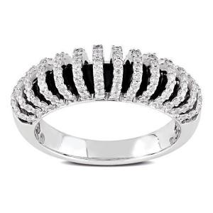 White Gold 5/8ct TDW Diamond Ring - Custom Made By Yaffie™