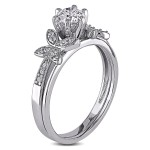Signature Collection White Gold 5/8ct TDW Diamond Bridal Set - Custom Made By Yaffie™