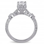 Signature Collection White Gold 1 1/4ct TDW Vintage Solitaire Diamond Ring - Custom Made By Yaffie™