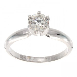 Gold 3/4ct TDW Certified Diamond Solitaire Engagement Ring - Custom Made By Yaffie™