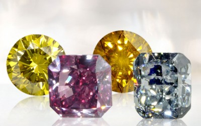 Story of Fancy Colour Diamonds