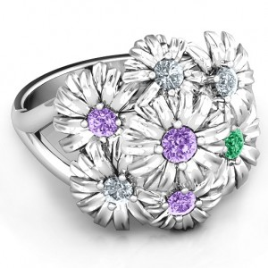 Personalised Ring In Full Bloom - Custom Made By Yaffie™