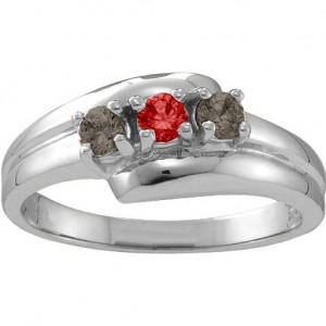 Personalised Reverie Angled 26 Stones Ring - Custom Made By Yaffie™