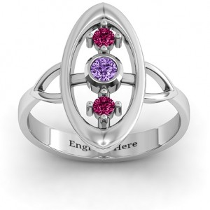 Personalised Soulful Window Ring - Custom Made By Yaffie™