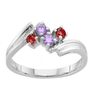 Personalised 27 Winged Accents Ring - Custom Made By Yaffie™