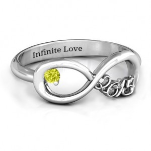 Personalised 2015 Infinity Ring - Custom Made By Yaffie™