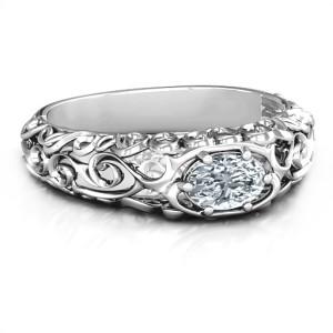 Personalised 2020 Vintage Graduation Ring - Custom Made By Yaffie™