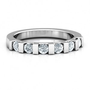 Personalised Band of Love Ring - Custom Made By Yaffie™