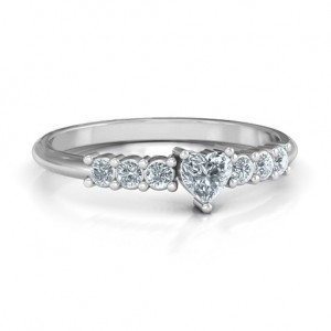 Personalised Beaming with Love Ring - Custom Made By Yaffie™