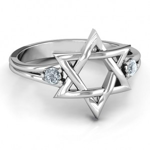 Personalised Classic Star of David Ring - Custom Made By Yaffie™