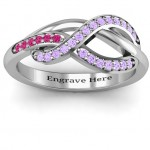 Personalised Delicacy Infinity Ring - Custom Made By Yaffie™