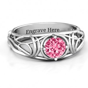 Personalised Enchanting Tangle of Love Ring - Custom Made By Yaffie™