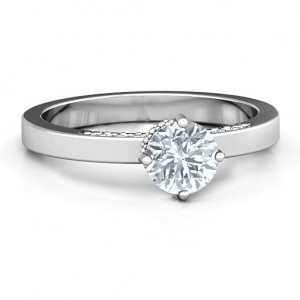 Personalised Enchantment Solitaire Ring - Custom Made By Yaffie™