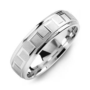 Personalised Eternal Greek Key Men's Ring - Custom Made By Yaffie™