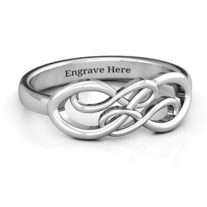 Personalised Everlasting Infinity Ring - Custom Made By Yaffie™