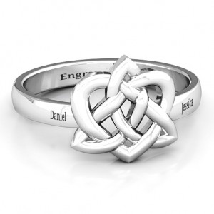 Personalised Fancy Celtic Ring - Custom Made By Yaffie™