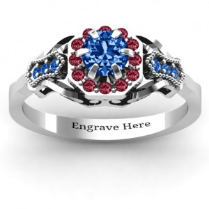 Personalised Fancy Vintage Ring - Custom Made By Yaffie™