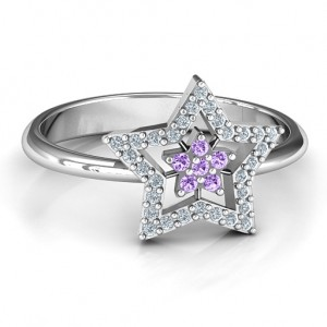 Personalised Floating Star with Halo Ring - Custom Made By Yaffie™