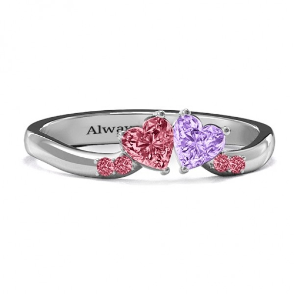 Personalised Follow Your Heart RIng - Custom Made By Yaffie™