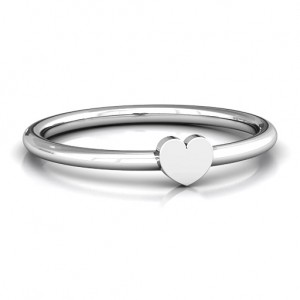 Personalised Heart Stackr Ring - Custom Made By Yaffie™