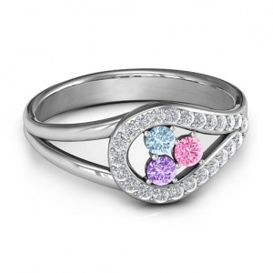 Personalised Illuminating Accents Ring - Custom Made By Yaffie™