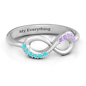 Personalised Infinity Accent Ring - Custom Made By Yaffie™