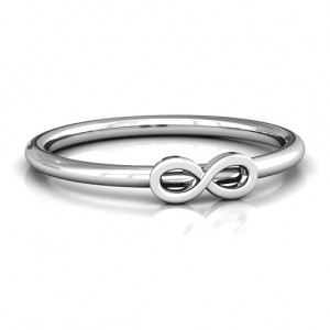 Personalised Infinity Stackr Ring - Custom Made By Yaffie™