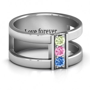 Personalised Layers Of Love Ring - Custom Made By Yaffie™
