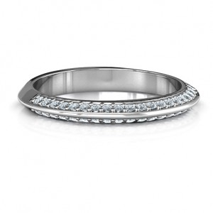 Personalised Malania Band Ring - Custom Made By Yaffie™