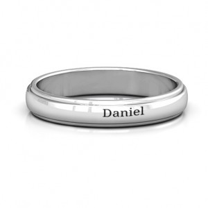Personalised Menelaus Bevelled Women's Ring - Custom Made By Yaffie™