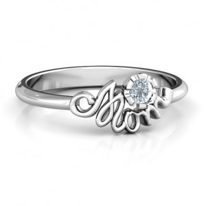 Personalised Mom's Reminder Ring - Custom Made By Yaffie™