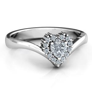 Personalised Peak of Love Ring - Custom Made By Yaffie™