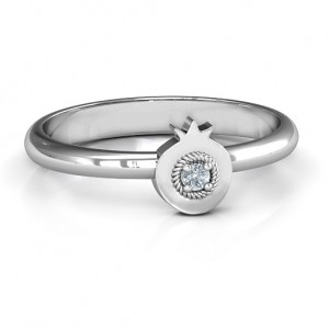 Personalised Pomegranate Ring - Custom Made By Yaffie™