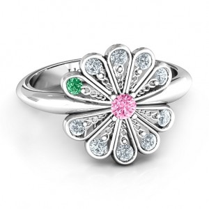 Personalised Pretty As A Peacock Ring - Custom Made By Yaffie™