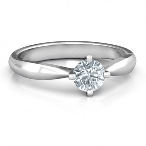 Personalised Sandra Solitaire Ring - Custom Made By Yaffie™