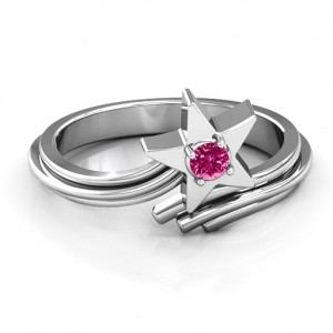 Personalised Shooting Star Ring - Custom Made By Yaffie™