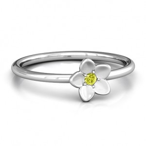 Personalised Stackr 'Azelie' Flower Ring - Custom Made By Yaffie™