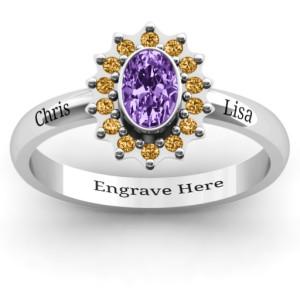Personalised Starburst Ring - Custom Made By Yaffie™