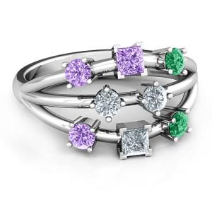Personalised Cosmic Energy Ring - Custom Made By Yaffie™