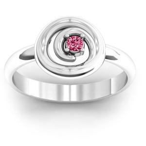 Personalised Swirling Desire Ring - Custom Made By Yaffie™