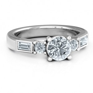 Personalised Andrea Engagement Ring - Custom Made By Yaffie™