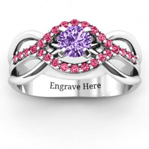 Personalised Fancy Woven Ring - Custom Made By Yaffie™
