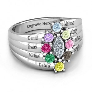 Personalised Medusa MultiWave Ring - Custom Made By Yaffie™