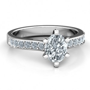 Personalised Shining in Love Ring - Custom Made By Yaffie™