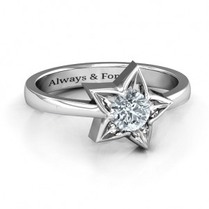 Personalised Superstar Ring - Custom Made By Yaffie™