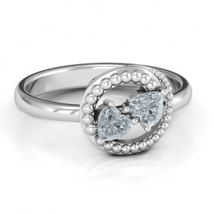 Personalised Timeless Love Ring - Custom Made By Yaffie™