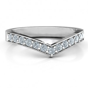 Personalised Vanessa Band Ring - Custom Made By Yaffie™